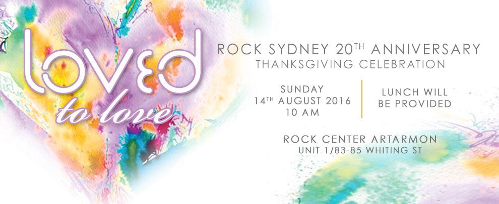 2016 ROCKSydney 20th Anniversary Celebration